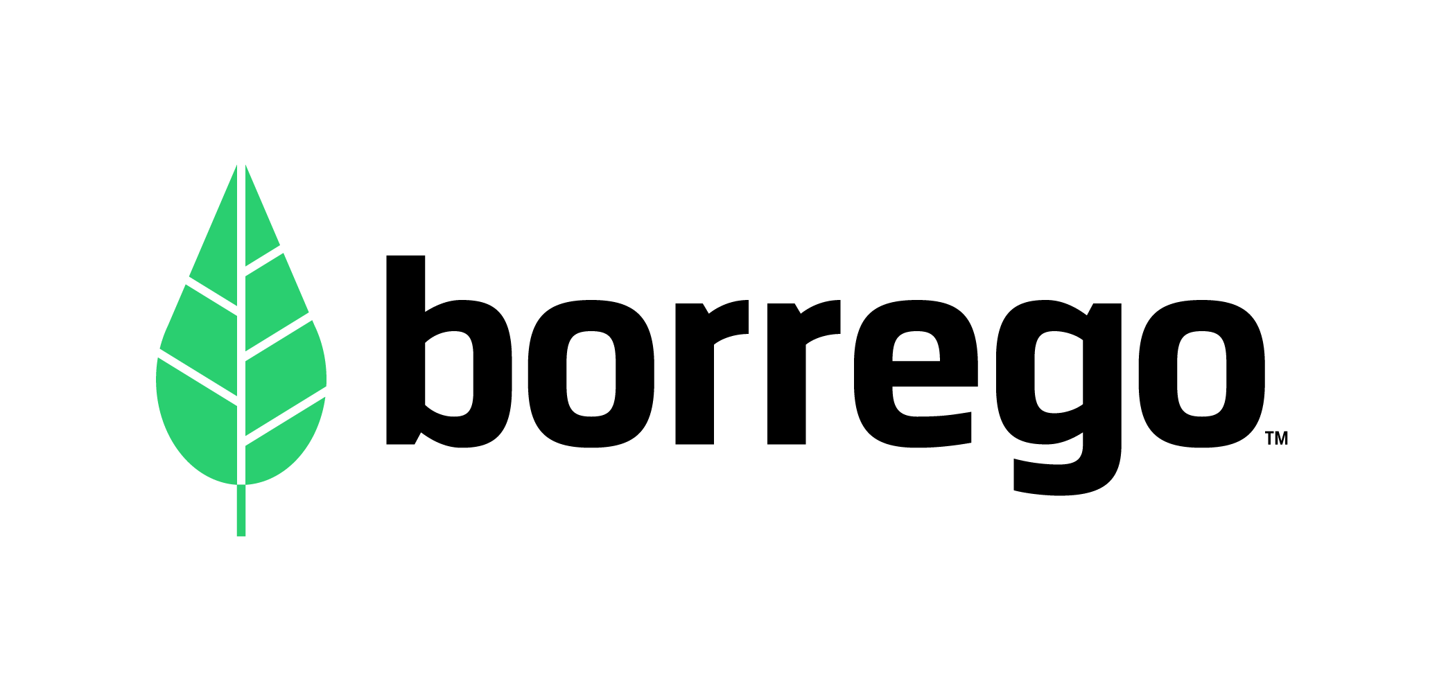 Borrego_logo-green_black_TM_logo