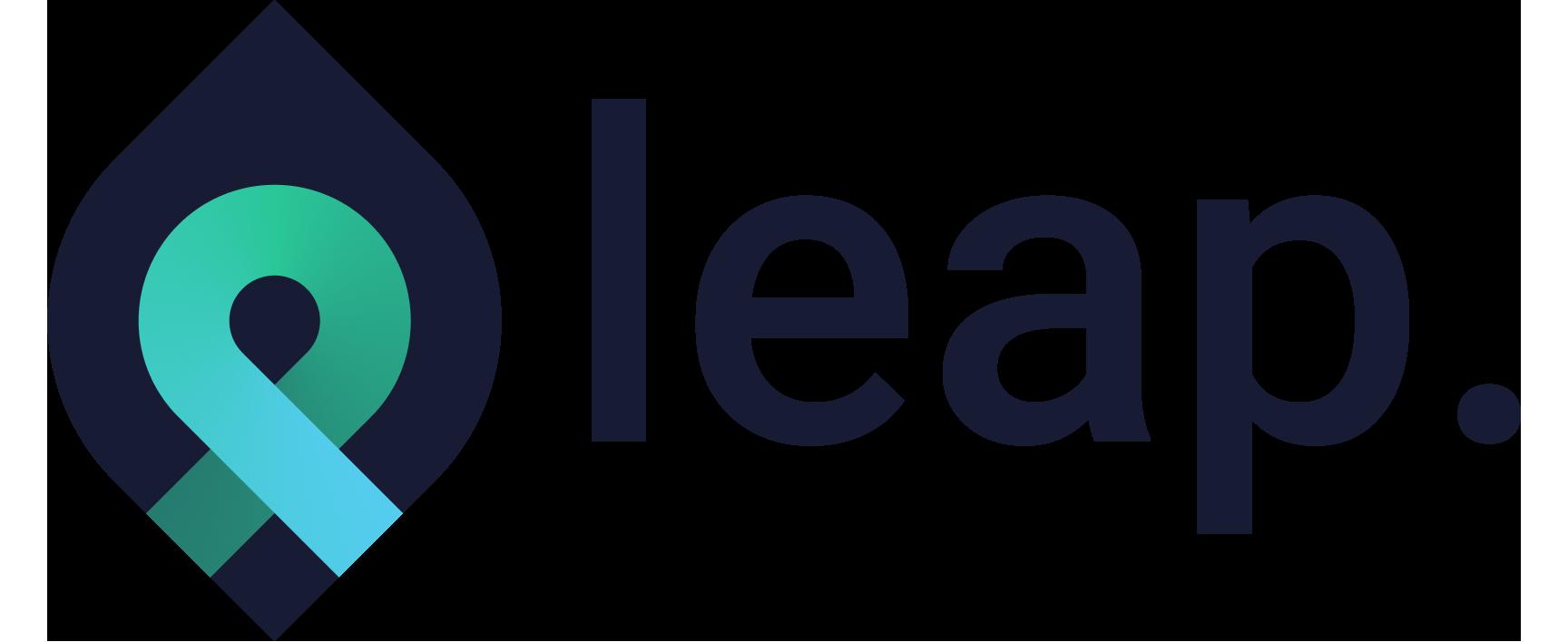 Leap white-bg transparent